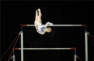 Highly Commended-Angelina Melnikova Uneven Bar Maneuver-Paul Hassell