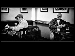 In an English Pub !