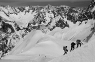 Climbing Mont Blanc - Mick Jennings